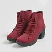 Классные ботинки(цвет бургунд) р 37,38,39,40