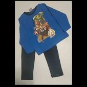 Пижамка хлопок Marvel 104-110.