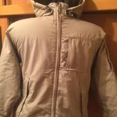 куртка, термо ветровка, внутри флис, размер 8 лет 128 см, Samson&Gert. состояние отличное