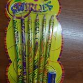Класнючий набір веселкових олівців. Діти задоволені ціми чудо олівчиками