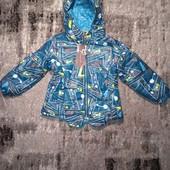 Оригинальная куртка Cross Fireдля мальчика, замеры внутри