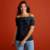 Элегантная футболка блуза Esmara Германия размер евро XL (48/50)