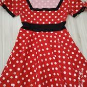 Платье Минни на подростка или размер хс/с замеры на фото