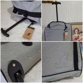 ❤️Kangol❤️Оригинал❤️фирменный чемодан на колесах с телескопической ручкой! Легкий,вместительный2в1