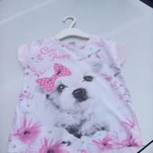 Стоп!! Фирменная удобная яркая натуральная футболка от kiki& Koko