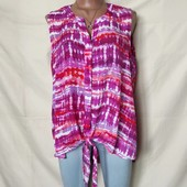Лёгенькая блузочка с завязками, грудь-118