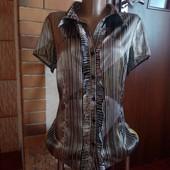 Шикарна легка блуза, класна якість і тканина.