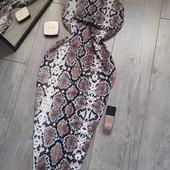 Крутое платье сарафан карандаш змея