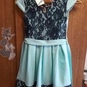 красивое новое нарядное платье 146