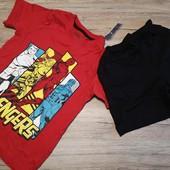 Германия! Marvel крутая пижама на мальчика 110-116 4-6 лет