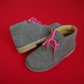 Ботинки Kangol оригинал натур замша 28-29 разм 18.5 см
