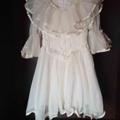 Нарядное воздушное платье 116-134