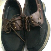 Туфли Кожа+Нубук от бренда Quayside 44 размер - стелька 28-28,5 см