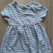 Хлопковое платье Lupilu! Германия! 86-92р. 110-116р.