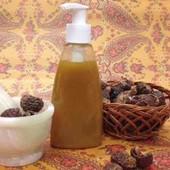 Натуральный лечебный шампунь на мыльных орехах и амле300мл!