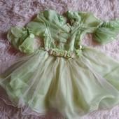 Нарядное платье 4-5 лет