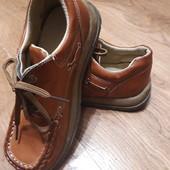 Кожа натуральная! Качественные туфли на мальчика, 33р.21,5см.
