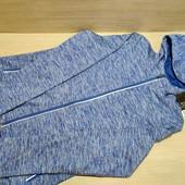 Германия!!! Кофта на змейке, куртка с капюшоном, софтшелл! 36/38 евро! Цвет фиолет, фото искажает!