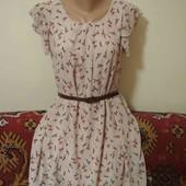 шифоновое платье  пог. 52