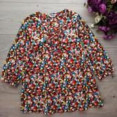 Лёгкая блузка для девочки 9-10лет. Tammy. Отличное состояние.