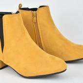 Демисезонные ботинки на флисе