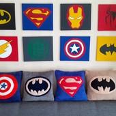 Подушка супергероев. Одна на выбор