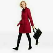 esmara.шикарный стильный тренч плащ с коллекции Хайди Клум цвет бордо евро 38+6 замеры