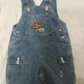 Летний джинсовый песочник Disney на 6-9 мес