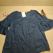 Германия!!! Лёгкая коттоновая женская блуза! 36/38 евро!