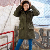 Куртка парка Пэппертс на девочку, размер 164