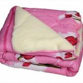 Одеяло меховое, овчина, открытое. Полуторное или двухспальное