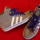 Кроссовки Adidas оригинал натур замша 39-40 размер