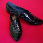 Туфли оксофорды Clarks натур кожа 38 размер