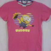 Классная футболка на девочку 8 лет! Смотрите мои другие лоты, есть много классных вещей!