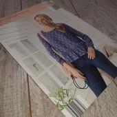 Необыкновенно легкая и нежная блуза от Blue Motion S 36/38