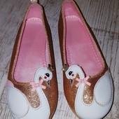 Туфли H&M. 28 размер. 17.5 см.