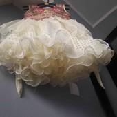 платтячко нарядне з вишивкою сток