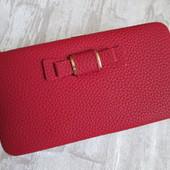 Последний! Женский Кошелек Baellerry n1330 Цвет красный