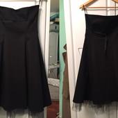 Продам нарядное черное вечернее платье, размер 12(46)