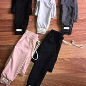 Спортивні штани 46 розмір Рожеві