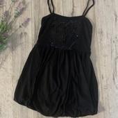 Майка, короткое платье для девочки 11-12 лет. В хорошем состоянии.