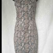 Много лотов! Элегантное платье со змеиным принтом, разгружаю шкаф
