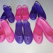 Аналог Crocs, 36 и 37р. Удобная модель балеток, шлепок! Не упустите, для лета, дачи, моря.