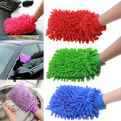 Микрофибровая варежка для идеальной уборки