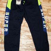 Модные спорт. брюки 134 р. Длина 76 см