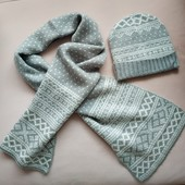 Комплект шарф и шапочка