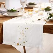 Яркий акцент !Скатерть дорожка на стол, раннер из био-хлопка, tcm tchibo (германия)