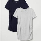 Трикотажная футболка для беременных H&M mama p. S