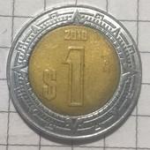 Монета Мексики 1 песо 2010