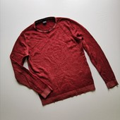 Тёплый тонкий мягкий свитер без горловины, джемпер Strellson